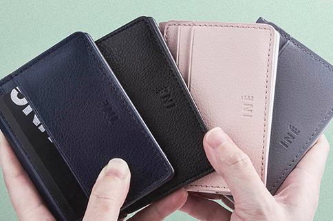 Porte-cartes éco avec batterie intégrée